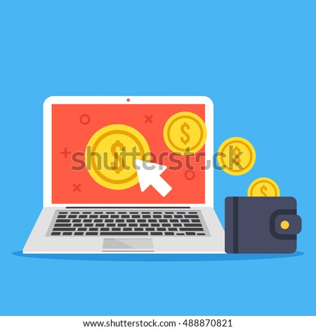 Traffic Monetization Icon. Business Concept Stock photo © WaD