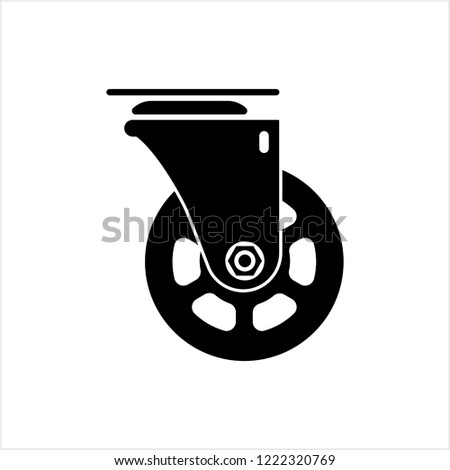 Furniture caster wheel Stock photo © cynoclub