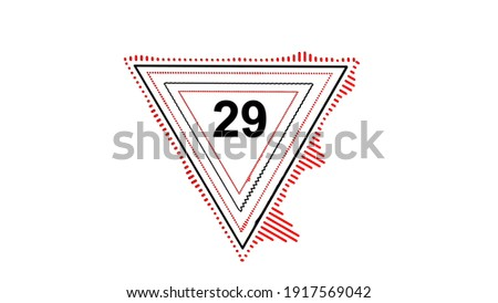 Count the triangles 29 Stock photo © Olena