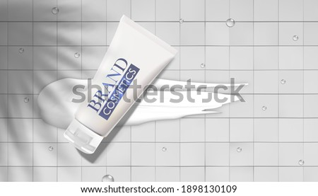 Mosaic of various cosmetic treatments Stock photo © photography33