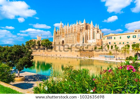 Cathedral of Santa Maria of Palma, Majorca Stock photo © ifeelstock