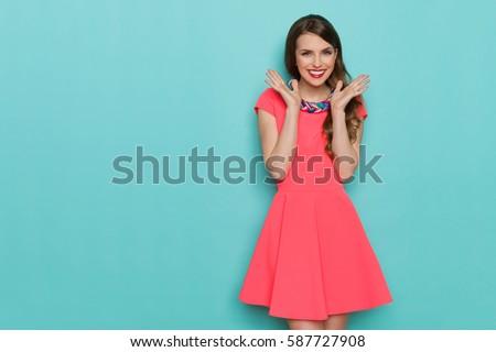Woman feminine dress Stock photo © iofoto