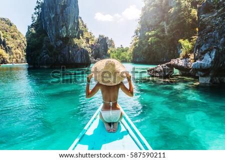 Palawan tropical beach Stock photo © smithore