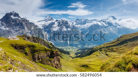 European Alps Stock photo © manfredxy