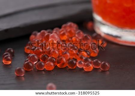 eper · kaviár · molekuláris · gasztronómia · étel · labda - stock fotó © joannawnuk