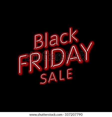black friday hanging sign vector illustration eps10 contains transparencies stock photo © rommeo79