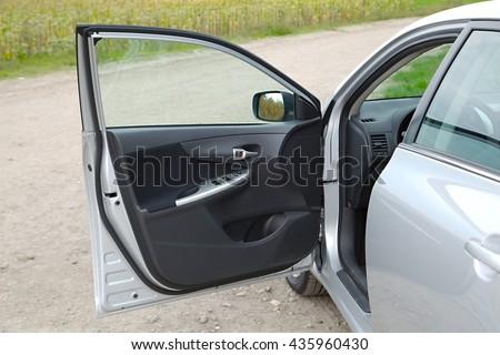 auto · deur · behandelen · menselijke · mannelijke - stockfoto © simazoran