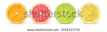 Cytrus świeże owoce cytrusowe tabeli owoców owoce Zdjęcia stock © tycoon