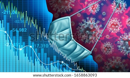 Coronavirus-Economic-Fear Stock photo © Lightsource