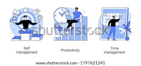 Scheduling vector concept metaphor. Stock photo © RAStudio
