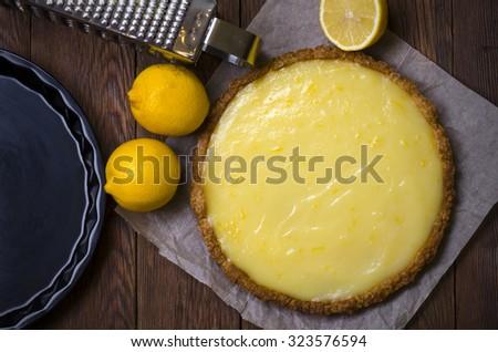 Lemon curd tart  Stock photo © Alex9500