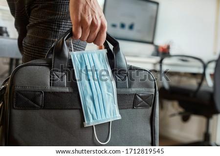 man with briefcase stock photo © pressmaster
