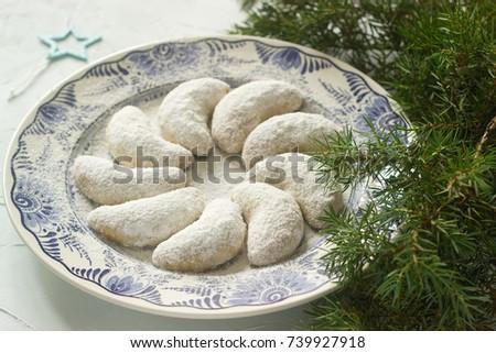 tradicional · tcheco · natal · bolinhos · bom · férias - foto stock © jonnysek
