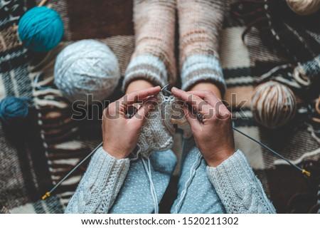 Knitting stock photo © fotogal