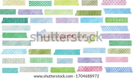Vízfesték mozdulatlan kortárs design sablon absztrakt festék Stock fotó © milsiart