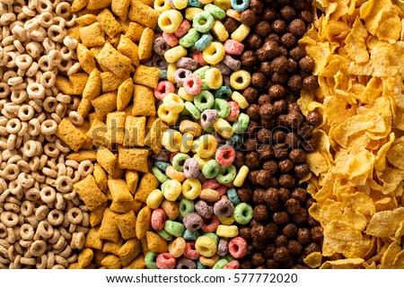 Quick breakfast cereals stock photo © Melnyk
