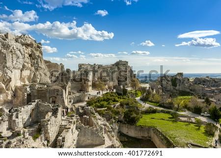 Les Baux de Provence Stock photo © smuki