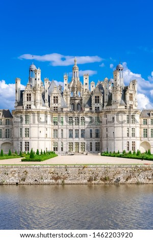 chambord castle france stock photo © neirfy