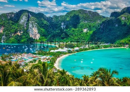 Isla Tailandia panorama verano día agua Foto stock © bloodua