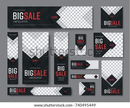 Set of abstract sales  rhombus Stock photo © Olena
