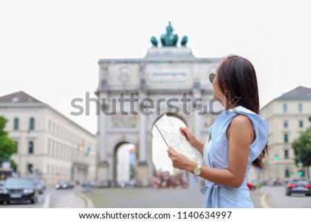 Victory Gate, Munich Stock photo © dmitry_rukhlenko
