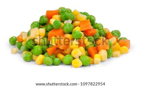 Stockfoto: Gemengd · groenten · witte · porselein · schotel · voedsel