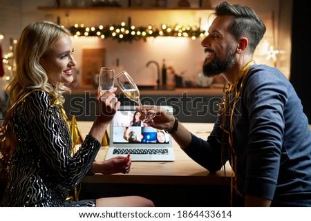 пару шампанского клуба женщину ночь Сток-фото © wavebreak_media