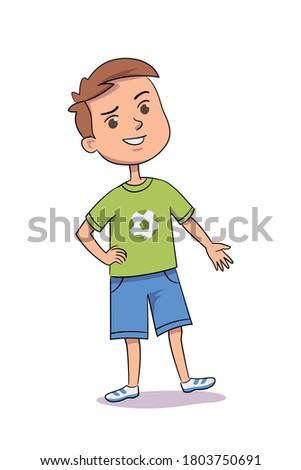 タイプ 男子生徒 セット 個人 ストックフォト © toyotoyo