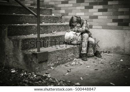 Birincil öğrenci okul kız çocuk üzücü Stok fotoğraf © Lopolo
