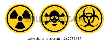 bacteria science hazard radiation danger Stock photo © yupiramos