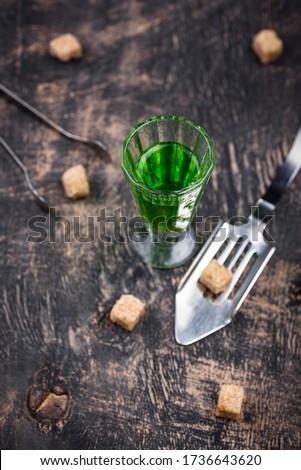 üveg sétapálca cukor kockacukor különleges kanál Stock fotó © furmanphoto