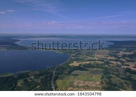 湖 ベラルーシ 森林 地区 水 風景 ストックフォト © borisb17