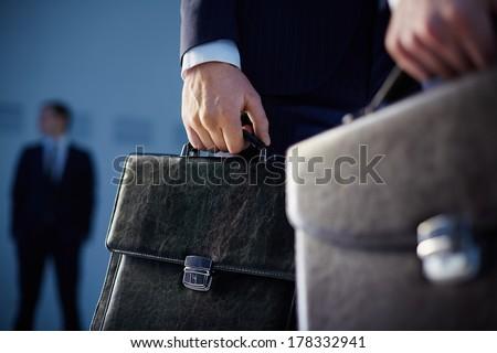 Man with Brief Case Stock photo © piedmontphoto