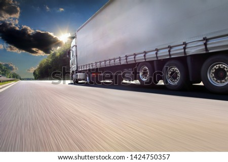 International road Stock photo © Lightsource