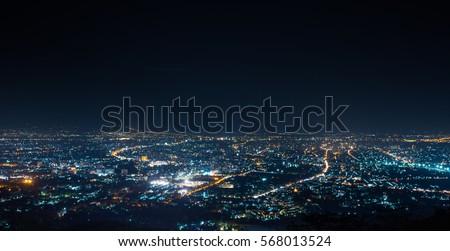 Night Skyline Stock photo © zzve