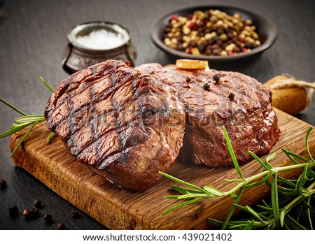 Beef steaks Stock photo © artlens
