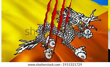 Brasil Butão bandeiras quebra-cabeça isolado branco Foto stock © Istanbul2009