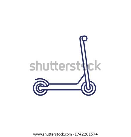 szilárd · vezetés · vékony · vonal · ikon · háló - stock fotó © rastudio