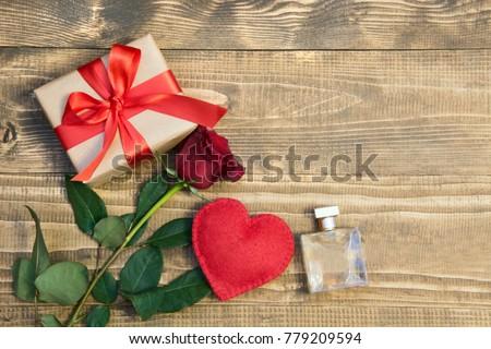 Two hearts in a wooden board Stock photo © Oakozhan