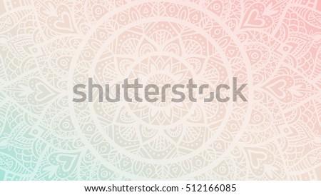 Mandala desen yalıtılmış örnek doğa yoga Stok fotoğraf © bluering