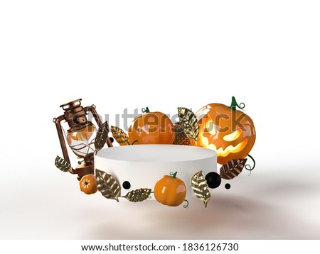 Ornamental pumkin on white background Stock photo © haraldmuc