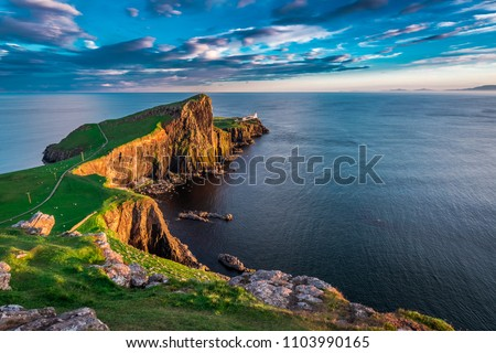 Beautiful Isle of Skye Stock photo © Hofmeester