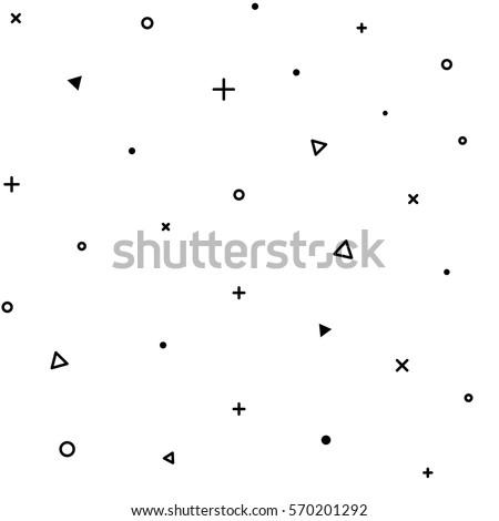 бесшовный белый геометрический дизайна искусства интерьер Сток-фото © creative_stock