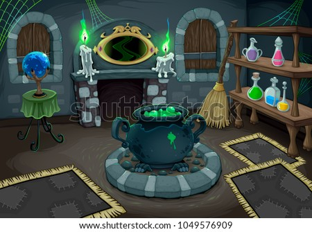 comic cartoon sorceress  Stock photo © lineartestpilot