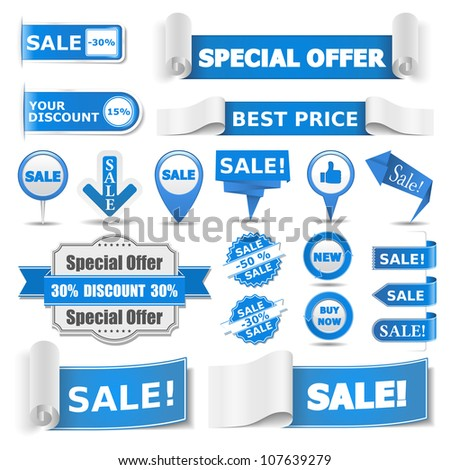 Star Circular Vector Blue Web Icon Button Stock photo © rizwanali3d
