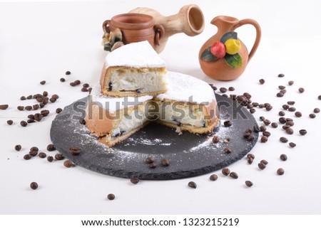 részlet · marcipán · torta · szép · gurmé · étel - stock fotó © monkey_business