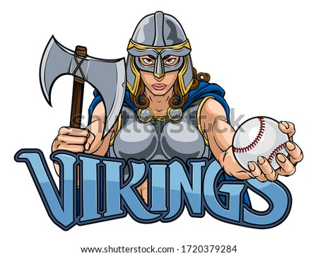 Viking truva Kelt şövalye beysbol savaşçı Stok fotoğraf © Krisdog