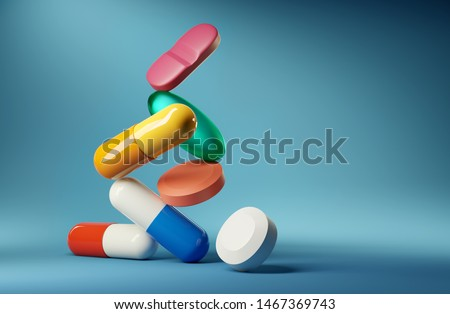 Pharmaceutical Products Stockfoto © solarseven