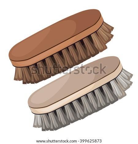 Clothes Brush Stok fotoğraf © lady-luck