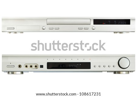 DVD player with tuner isolated Stock photo © Givaga
